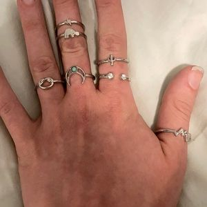 FREE ADD ON Silver Rings